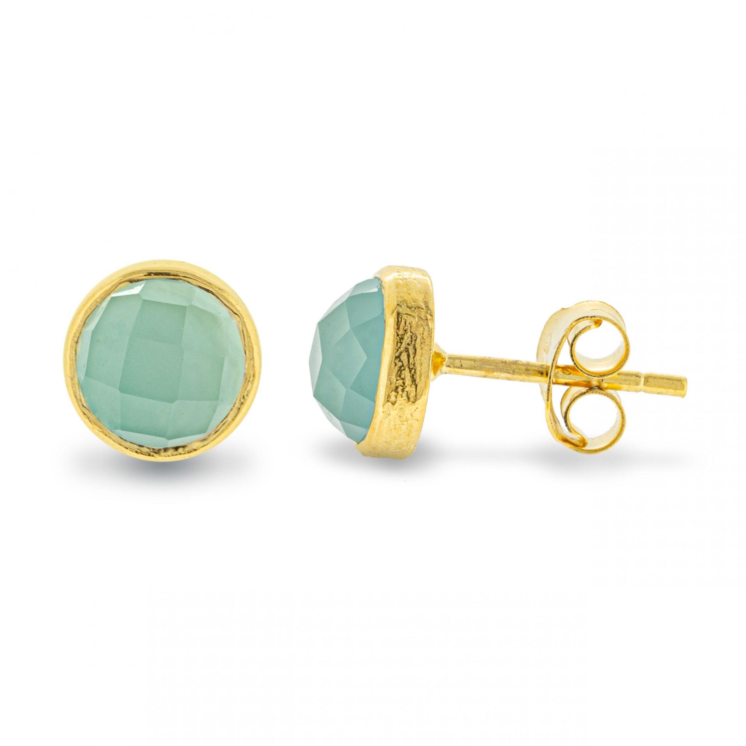 Earring /'Chalcedony/'